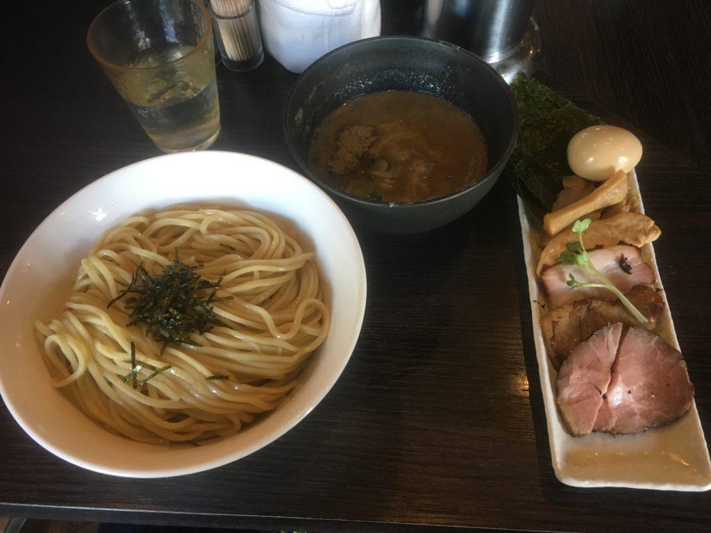 麺処ほん田 特選つけ麺(柚子)