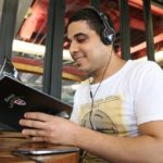 音楽を聴きながら読書する時間が心地良い!